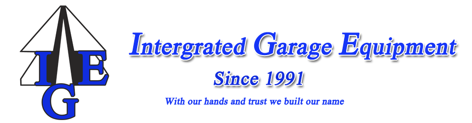 Intergrated Garage Equipment Logo